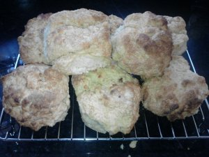 Plain buttermilk scones