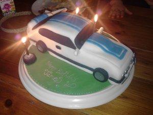 Ford Capri Cake